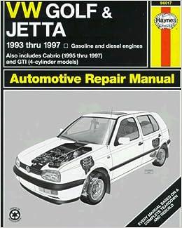VW Golf & Jetta '93'97 (Haynes Automotive Repair Manual Series) by Chilton (1999-01-15)