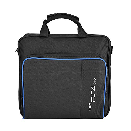 fosa PS4 Pro Carrying Case Bag, Waterproof Shockproof Game System Protective Travel Case for PlayStation 4 Pro System and Accessories