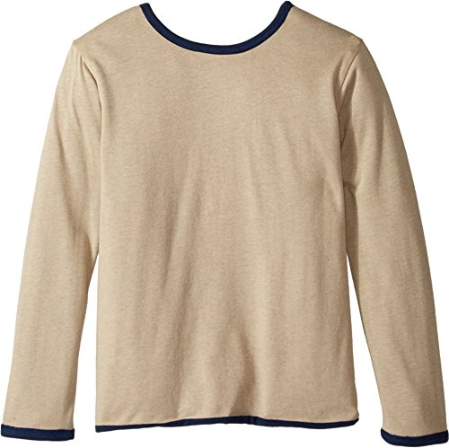 4Ward Clothing Boy's Four-Way Reversible Long Sleeve Jersey Top (Little Kids/Big Kids) Navy/Oatmeal (Reversible Long Sleeve Top)