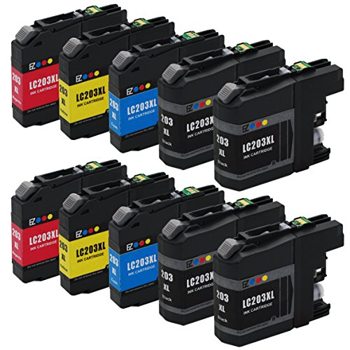 E-Z Ink(TM) Compatible Ink Cartridge Replacement for Brother LC203XL LC203 XL to use with MFC-J480DW MFC-J880DW...