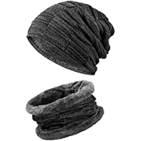 Black Jack K K Unisex Beanie Hat and Scarf Set