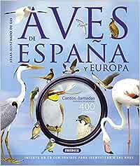 Las aves de España y Europa con CD Atlas Ilustrado: Amazon.es ...