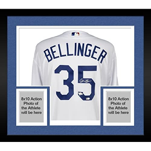 550c04ce330 Framed Cody Bellinger Los Angeles Dodgers Autographed Majestic White  Authentic Jersey - Fanatics Authentic Certified