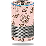 MightySkins Skin for Amazon Echo (2nd Gen) - Butterfly Garden | Protective, Durable, and Unique Vinyl Decal wrap Cover | Easy to Apply, Remove, and Change Styles | Made in The USA