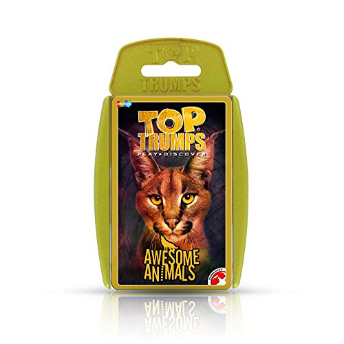 (Top Trumps Awesome Animals Card Game )