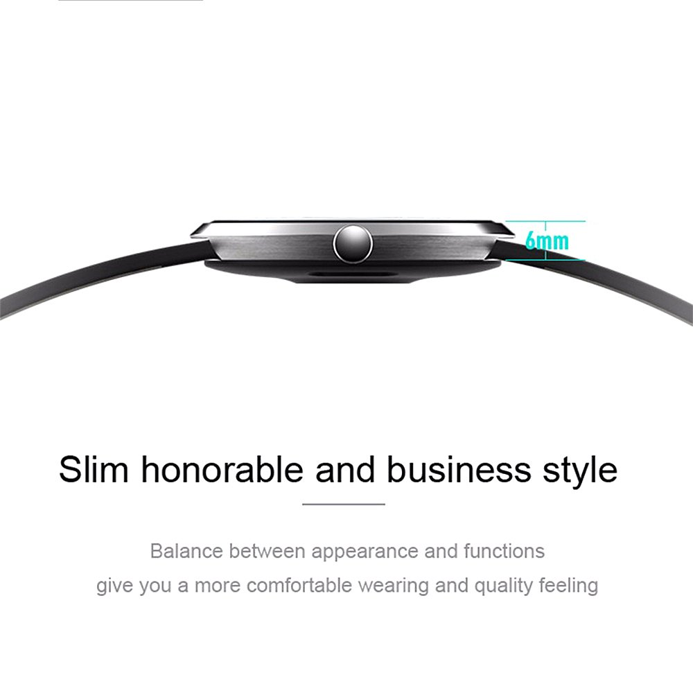 Teamyo H09 - Reloj inteligente para Smartphone IOS y Android Huawei P9 lite y P8 Lite 2017, Samsung Galaxy A320 y A520 y iPhone 7, 7 Plus y 6.