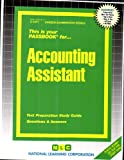 Accounting Assistant, Jack Rudman, 0837310717