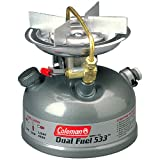 "Coleman Guide Series Compact Dual Fuel Stove,Coleman Green,7.38"" H x 7.38"" W x 6.55"" L"