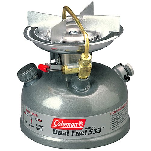 Coleman 1-Burner Dual Fuel Sporter II Liquid Fuel Stove, Outdoor Stuffs