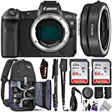 Canon EOS R Mirrorless Digital Camera Body w/Canon Mount Adapter...