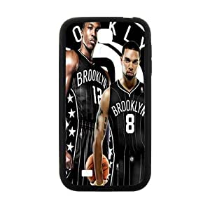 Brooklyn Nets NBA Black Phone Case for Samsung Galaxy S4 Case