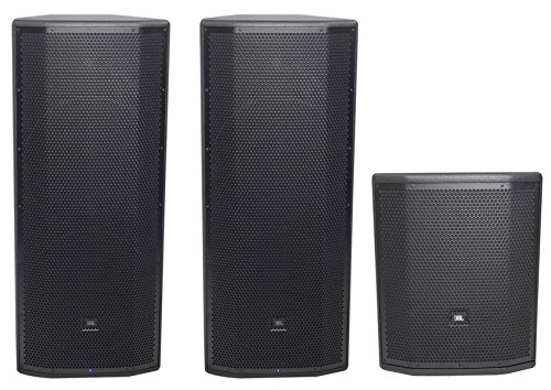 """(2) JBL Pro PRX825W Dual 15 3000 Watt Powered Speakers+15"""" Active Subwoofer Sub from JBL"""