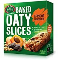 Mother Earth Oaty Slices Apricot Chocolate Bars - 240 g
