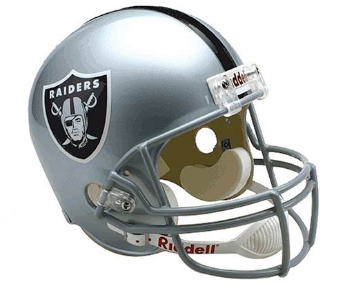 NFL Oakland Raiders Deluxe Replica Football Helmet