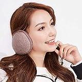 Furry Winter Foldable Big Ear Warmers Earmuffs Full Surround Ear Muffs for Men Women