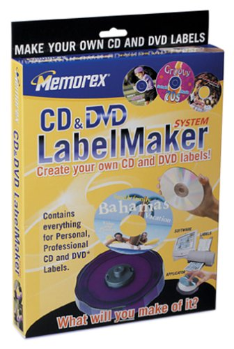 (Memorex CD/DVD Compact LabelMaker System (Discontinued by Manufacturer))