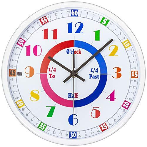 45Min Teaching Clock Silent