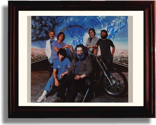 Framed Grateful Dead Autograph Replica - Grateful Dead Signed