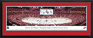 Detroit Red Wings - 1st Game at Little Caesars Arena - Blakeway Panoramas NHL Prints