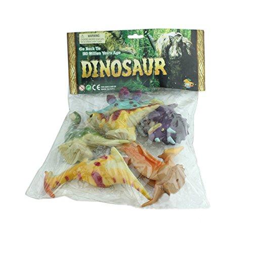 Surker Wild World Model Toy Dinosaur Play Set (6 Toy Dinosaurs) HA00015