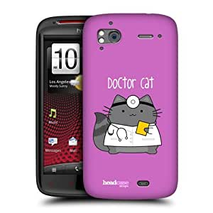 Head Case Designs The Doctor Wilbur The Professional Protective Snap-on Hard Back Case Cover for HTC Sensation XE Sensation by icecream design