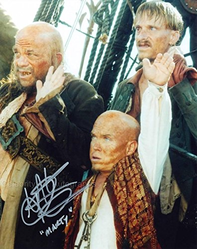 MARTIN KLEBBA as Marty - Pirates Of The Caribbean GENUINE AUTOGRAPH from Celebrity Ink