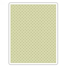 Sizzix 661612 Texture Fades Embossing Folder, Tiny Dots by Tim Holtz