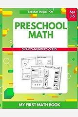 Preschool Math: Tracing Numbers, Shapes, Numbers, Beginner Math Workbook Paperback