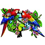 Parrots in Paradise 1000 pc Jigsaw Puzzle