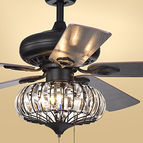 Warehouse of Tiffany CFL-8306 Ceiling Fan, 52″