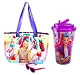 JoJo Siwa Dream Crazy Big Bag with Sunglasses and Star Sweets 16oz Plastic Cup