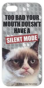 Generic Cute Grumpy Cat with Too Bad Your Mouth Doesn't Have a Silent Mode Hardshell Cell Phone Cover Case for iPhone 6 (4.7 Inch Screen) by mcsharks