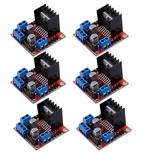 - Qunqi 6Packs L298N Stepper Motor Drive Controller Board Module Dual H Bridge For Arduino