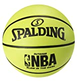 Spalding NBA Glow in the Dark Basketball - Official Size 7 (29.5')