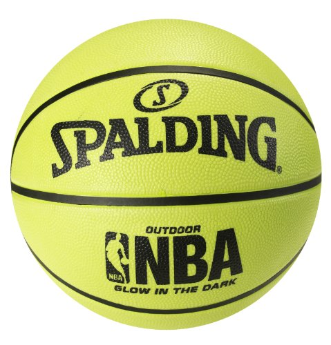 Spalding NBA Glow in the Dark Basketball - Intermediate Size 6 (28.5