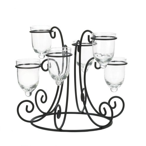 Wrought Iron Candle Display (Wrought Iron Head)