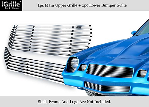 - APS 304 Stainless Steel Billet Grille Combo Fits 78-81 Chevy Camaro #N19-C43018C