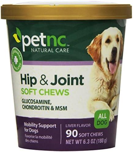 [PetNC] 강아지 관절 힙 건강 보조 소프트 츄 글루코사민/콘드로이친/MSM 첨가 Natural Care