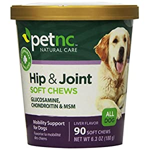 PetNC Natural Care Hip and Joint Soft Chews for Dogs, 90 Count 1