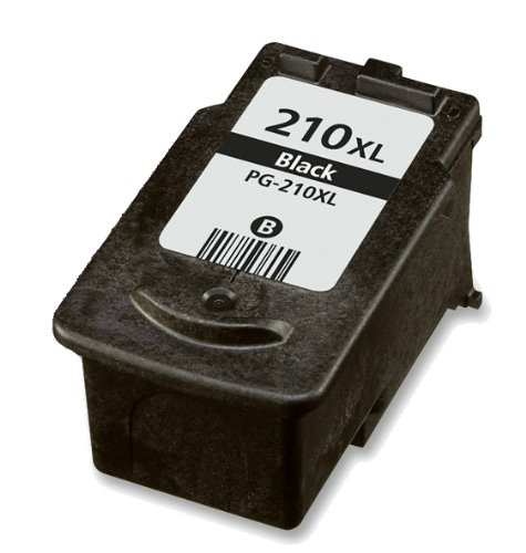 HouseOfToners Remanufactured Ink Cartridge Replacement for Canon PG-210XL (1 Black)