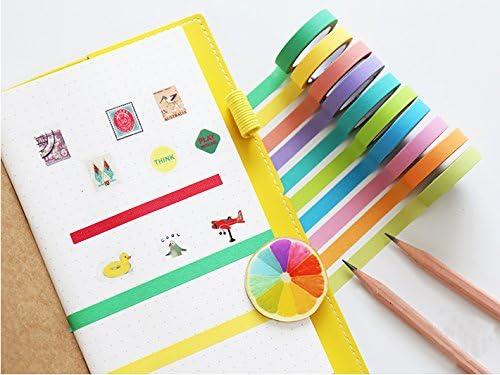 40 Rollen Washi Tape Set Dekorative Maskierung Diy Bänder Für Kinder Und G H8E6