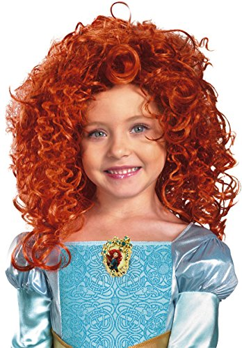Disguise Brave Merida Wig, Red, One Size by Disguise