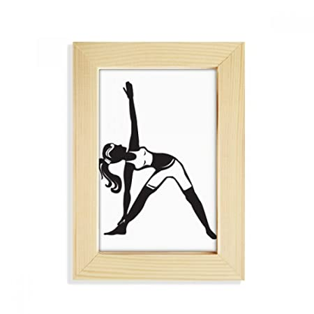 DIYthinker Yoga Girl Estirar Mantener la Silueta de ...