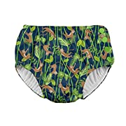i play. Snap Reusable Absorbent Swimsuit Diaper,Navy Monkey,6mo