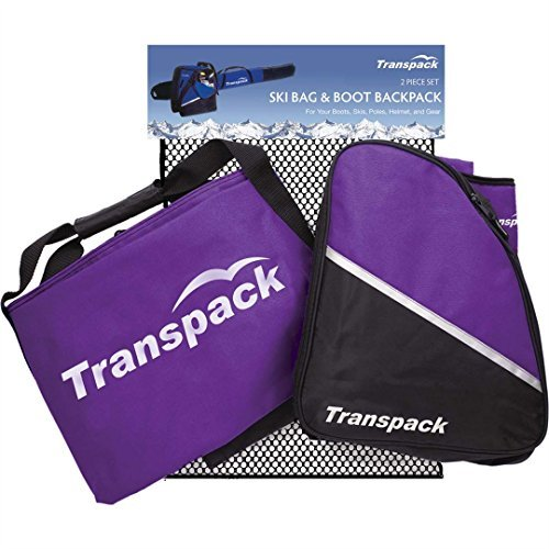 Transpack Alpine Ski and Boot Bag Combo (2 Piece) by Transpack