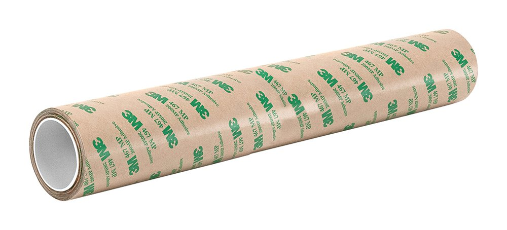TapeCase 10-5-467MP High Performance Adhesive Transfer Tape, Converted from 3M 467MP, 10' x 5 Yard Roll 10 x 5 Yard Roll