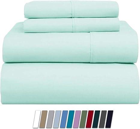 100/% Egyptian Cotton 500 Thread Count Bedding Duvet Cover Set Inc Pillowcases