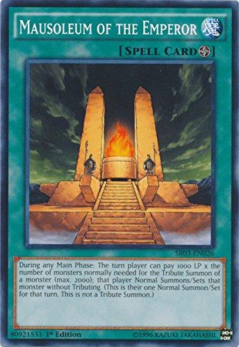 - Mausoleum of the Emperor - SR03-EN026 - Common - 1st Edition - Structure Deck: Machine Reactor (1st Edition)