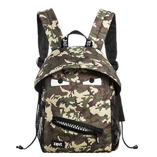Zipit ZBPM-GR-N6 ZIPIT Grillz Junior Backpack, Camo Green ()