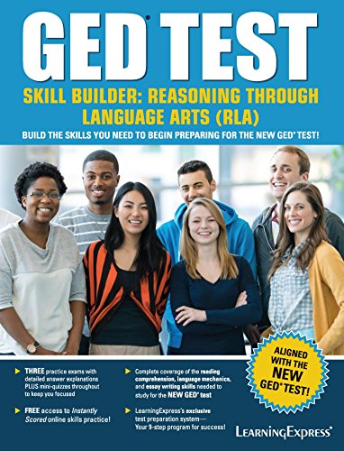 GED Test Skill Builder Reasoning Through Language Arts (RLA) (1st 2014) [LearningExpress]